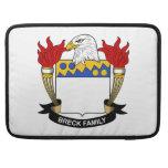 Escudo de la familia de Breck Funda Macbook Pro