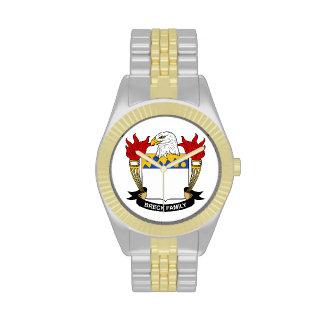 Escudo de la familia de Breck Relojes De Mano