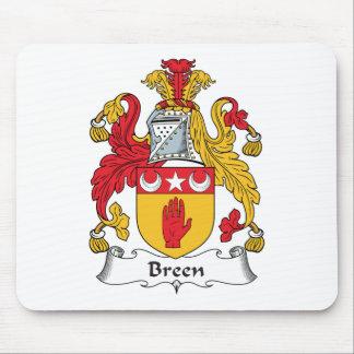 Escudo de la familia de Breen Tapete De Ratón