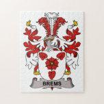 Escudo de la familia de Brems Rompecabeza