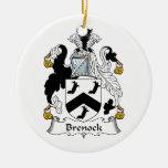 Escudo de la familia de Brenock Adorno De Reyes
