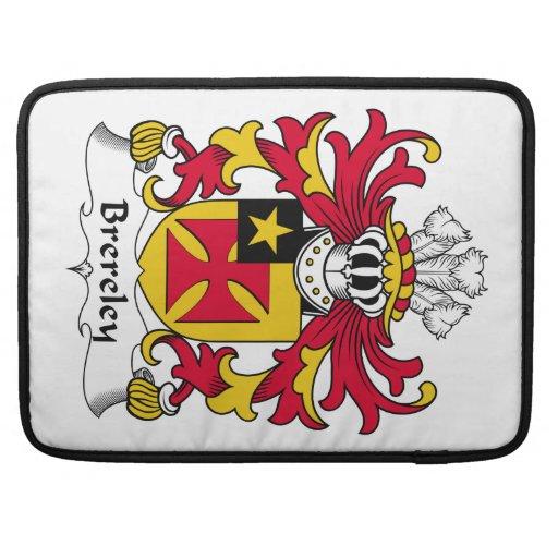 Escudo de la familia de Brereley Funda Para Macbooks