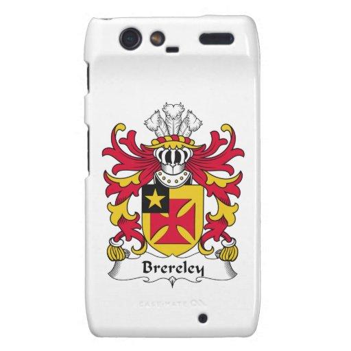 Escudo de la familia de Brereley Motorola Droid RAZR Carcasa