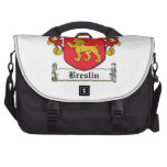 Escudo de la familia de Breslin Bolsa De Ordenador