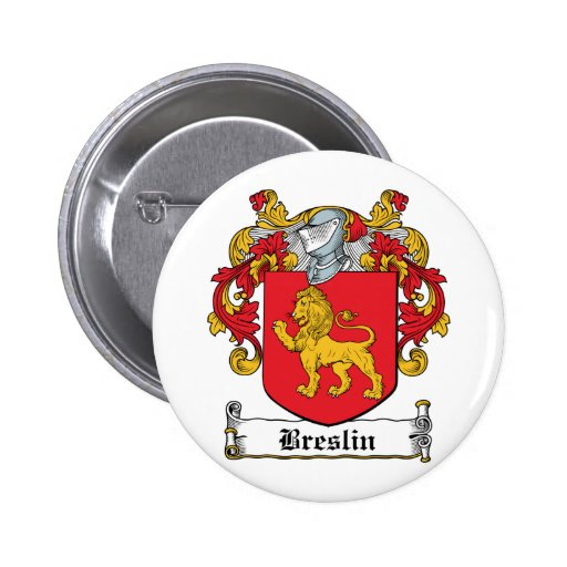 Escudo de la familia de Breslin Pin