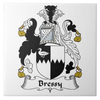 Escudo de la familia de Bressy Azulejo