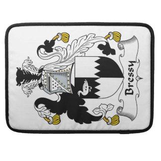 Escudo de la familia de Bressy Fundas Para Macbook Pro