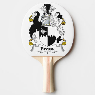 Escudo de la familia de Bressy Pala De Tenis De Mesa