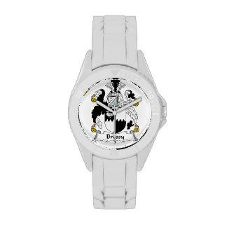 Escudo de la familia de Bressy Reloj De Mano