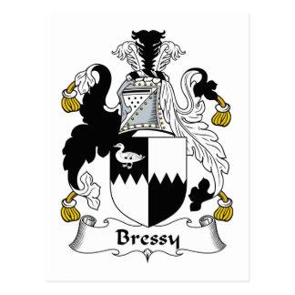 Escudo de la familia de Bressy Tarjetas Postales
