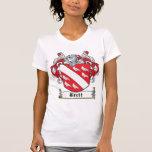 Escudo de la familia de Brett Camiseta
