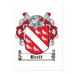 Escudo de la familia de Brett Postal