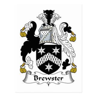 Escudo de la familia de Brewster Postal