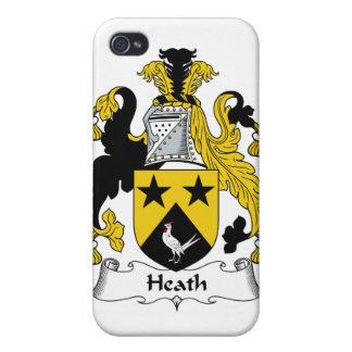 Escudo de la familia de brezo iPhone 4 cárcasas