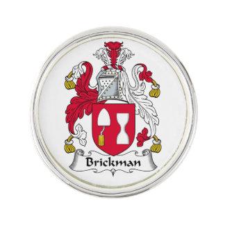 Escudo de la familia de Brickman Insignia