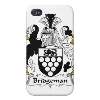 Escudo de la familia de Bridgeman iPhone 4/4S Fundas