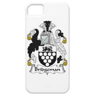 Escudo de la familia de Bridgeman iPhone 5 Carcasa