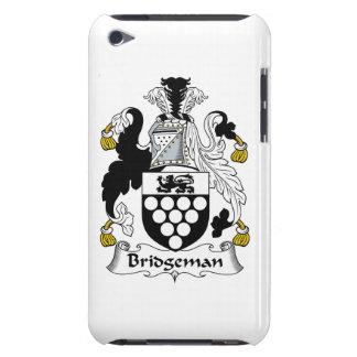 Escudo de la familia de Bridgeman iPod Touch Case-Mate Carcasas