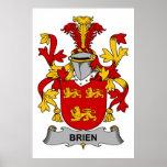 Escudo de la familia de Brien Impresiones