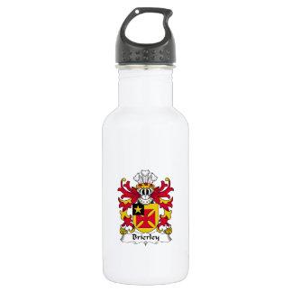 Escudo de la familia de Brierley Botella De Agua