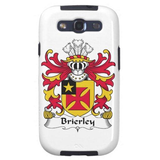 Escudo de la familia de Brierley Galaxy SIII Coberturas