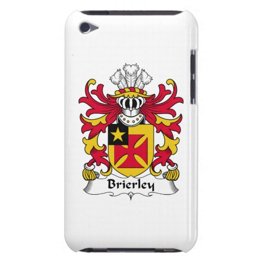 Escudo de la familia de Brierley iPod Touch Funda