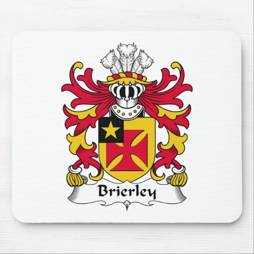 Escudo de la familia de Brierley Mousepads