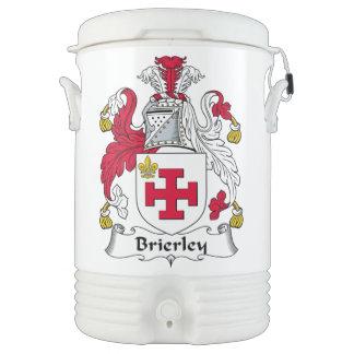 Escudo de la familia de Brierley Refrigerador De Bebida Igloo