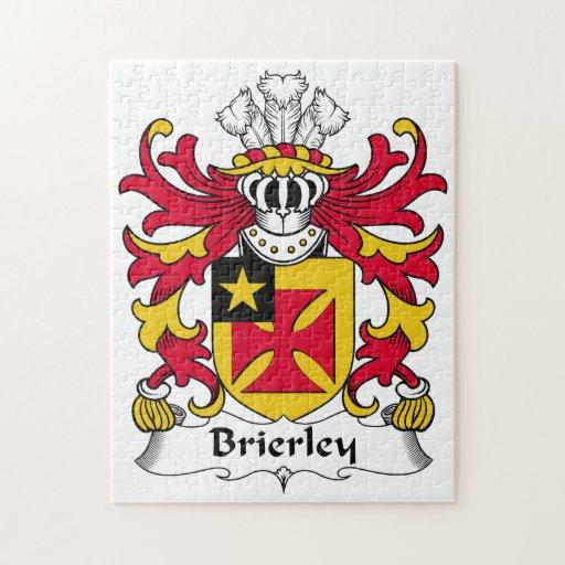 Escudo de la familia de Brierley Rompecabeza