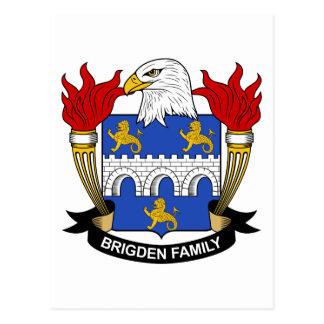 Escudo de la familia de Brigden Postales