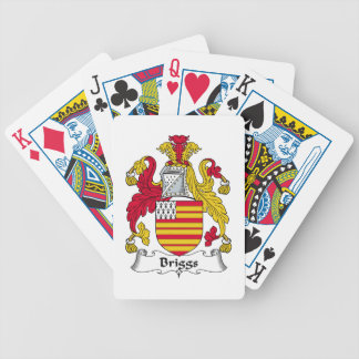 Escudo de la familia de Briggs Baraja Cartas De Poker
