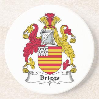 Escudo de la familia de Briggs Posavasos Diseño
