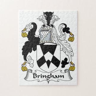 Escudo de la familia de Bringham Puzzles