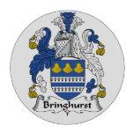 Escudo de la familia de Bringhurst Juego De Fichas De Póquer
