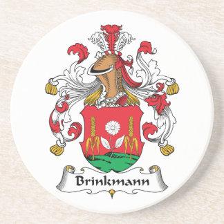 Escudo de la familia de Brinkmann Posavasos Personalizados