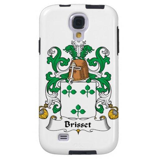 Escudo de la familia de Brisset Funda Para Galaxy S4