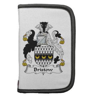 Escudo de la familia de Bristow Planificador