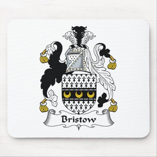 Escudo de la familia de Bristow Alfombrillas De Raton