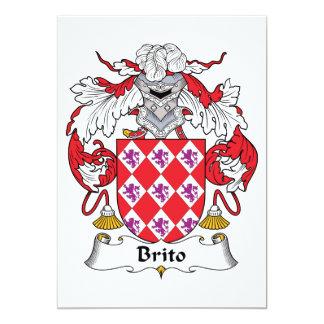 Escudo de la familia de Brito Anuncio