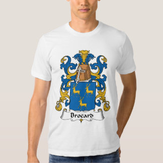 Escudo de la familia de Brocard Camisas