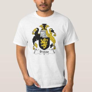 Escudo de la familia de Brocas Camisas