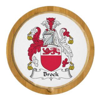 Escudo de la familia de Brock