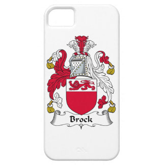 Escudo de la familia de Brock iPhone 5 Case-Mate Cárcasas