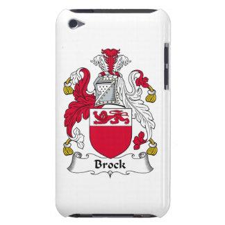 Escudo de la familia de Brock Case-Mate iPod Touch Carcasas