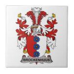 Escudo de la familia de Brockenhuus Azulejos Ceramicos