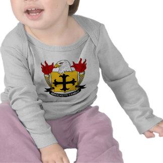 Escudo de la familia de Brockett Camiseta