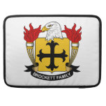 Escudo de la familia de Brockett Fundas Para Macbook Pro