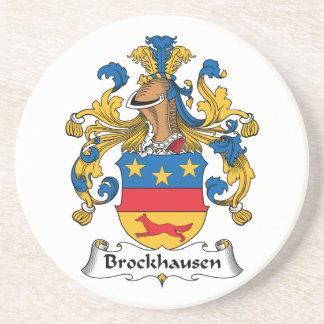 Escudo de la familia de Brockhausen Posavasos Personalizados