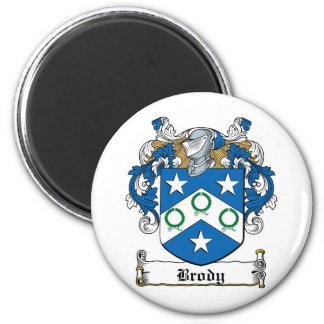 Escudo de la familia de Brody Imán Redondo 5 Cm