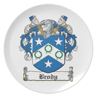 Escudo de la familia de Brody Plato